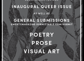 QWERTY Issue 38 Submission Deadline, October 7