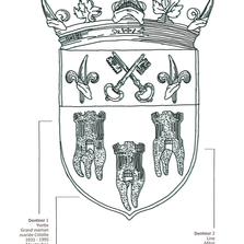 Armoiries du Maxillo-Royaume
