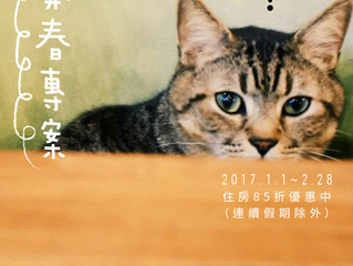 『2017.1-2月開春專案!!』