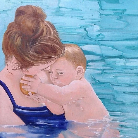 Connie and Sam oil on canvas.webp
