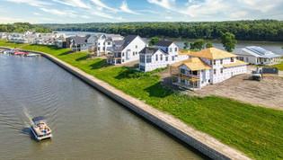 Luxury Waterfront Model Home Underway at Heritage Harbor Resort in Ottawa