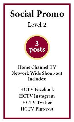 3 social posts