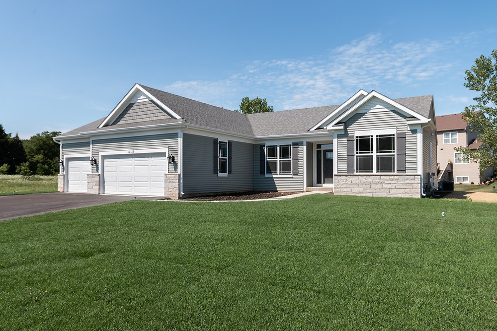 New Roosevelt ranch home plan from KLM Builders