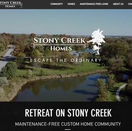 WEBSITE - STONY CREEK HOMES