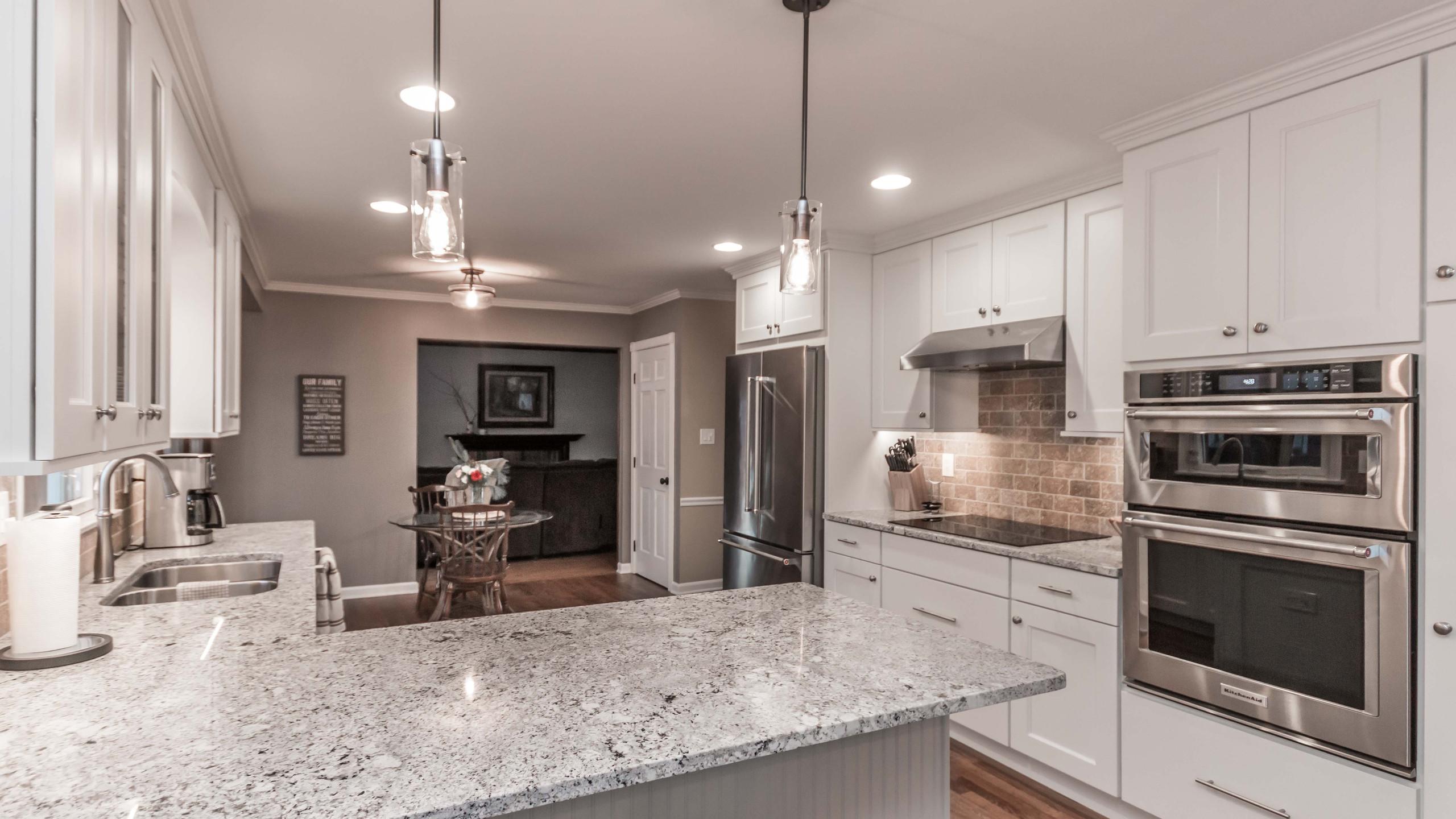 White Kitchen Remodel 4
