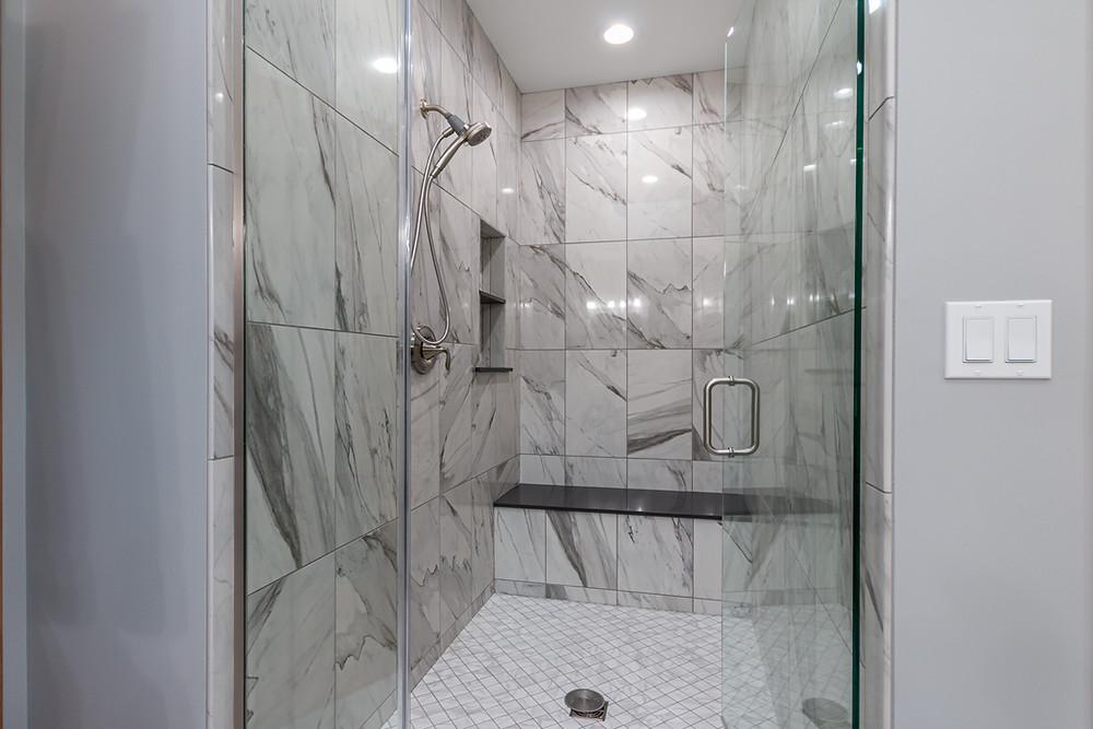 New Walk-in Shower Design