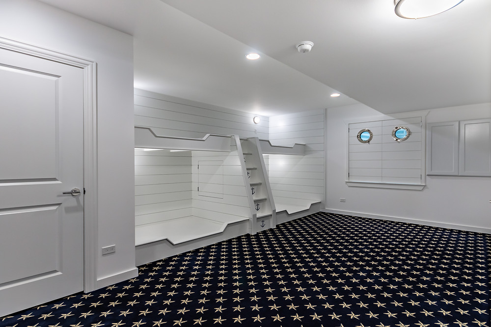 4 bed bunkroom design