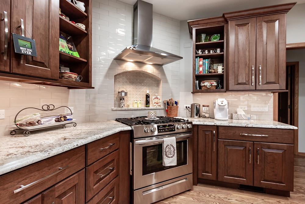 Kitchen Design Range and Niche