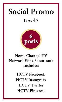 6 social posts