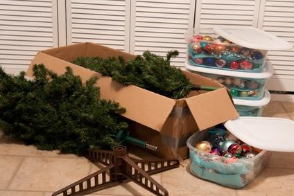 Tips for packing Christmas Decor