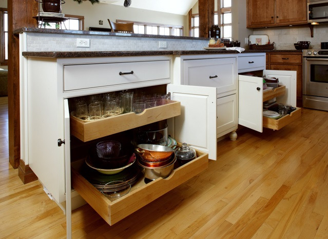 cabinets with pull out shelving