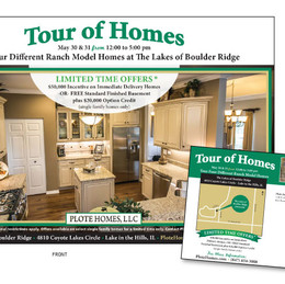 DIRECT MAIL - PLOTE HOMES