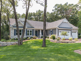 New Custom Ranch Model at Thousand Oaks in Spring Grove, IL by KLM Builders