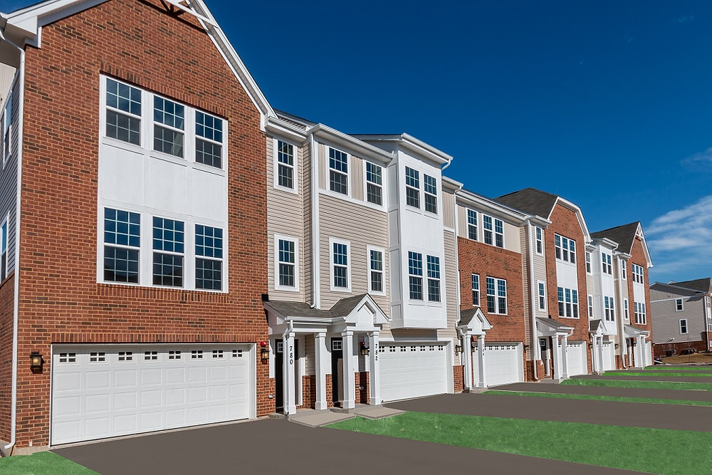 Wexford Townhome Plan by Ryan Homes
