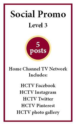 5 social posts