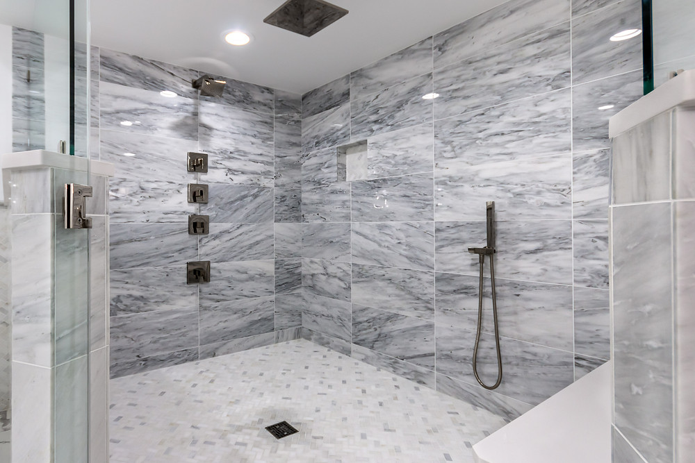 Luxury walk-in Shower
