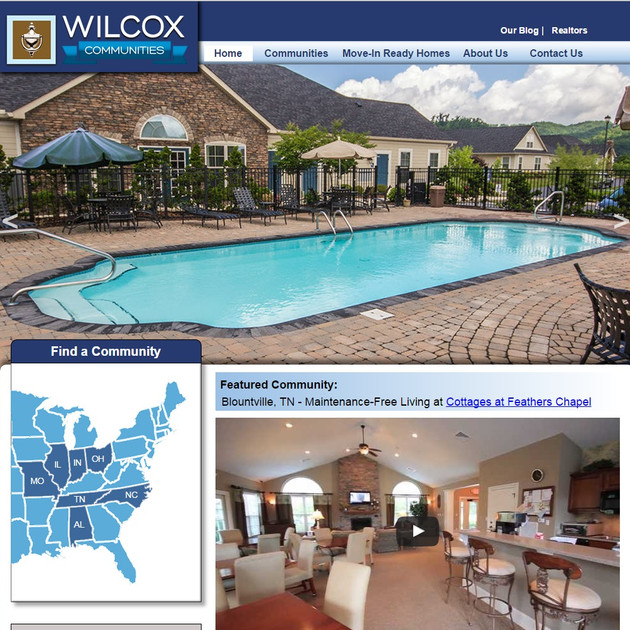WEBSITE - WILCOX COMMUNITIES