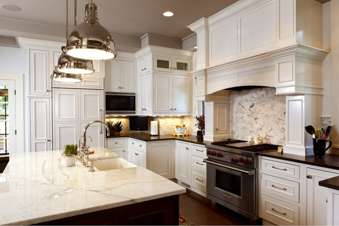Custom White Kitchen Design