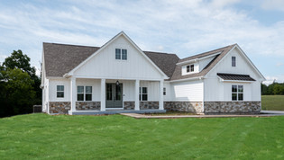 Open House Tour 117 - Farmhouse Style Custom Ranch Home