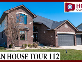 Luxury Two-Story Home Plan at Whisper Creek in Mokena IL by Hartz Homes