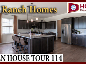 Open House Tour 114 - Touring 4 Low-Maintenance Ranch Homes at Lago Vista in Lockport IL