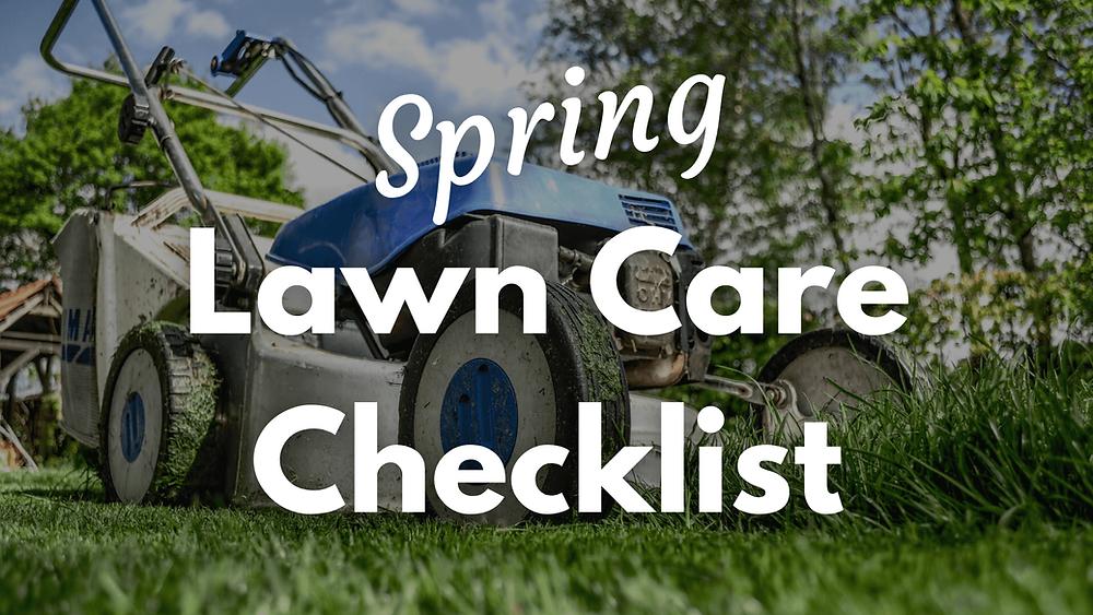 Lawn Care Checklist Lawn Mower