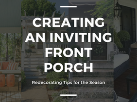 Front Porch Decorating: Tips for Creating a Welcoming Front Porch This Season