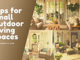 Making the Most of a Small Outdoor Living Space