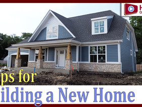 Building a House - A Video Overview on Steps to Expect During New Home Construction