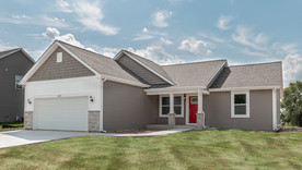 House Tour of a New 1,600 Square Foot Ranch Home from US Shelter Homes in Delavan Wisconsin