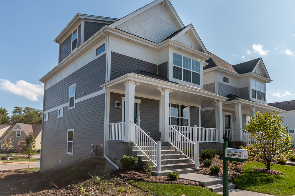 Model Home at Stafford Place in Warrenville IL