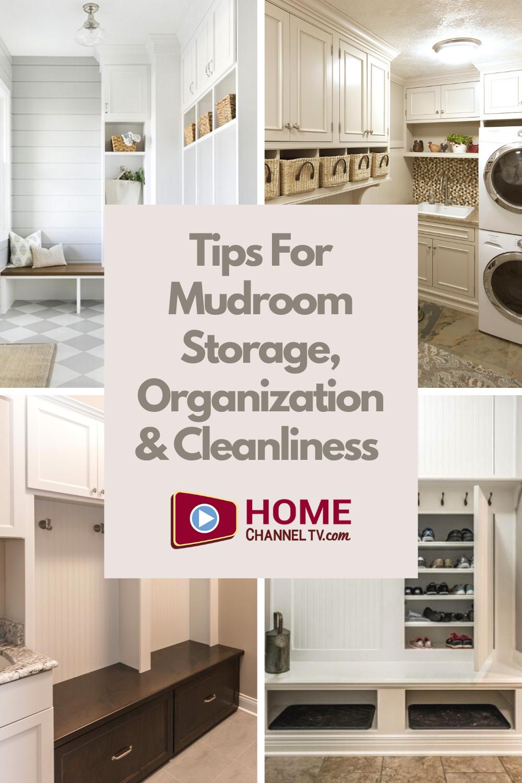 Mudroom Storage and Organization Tips