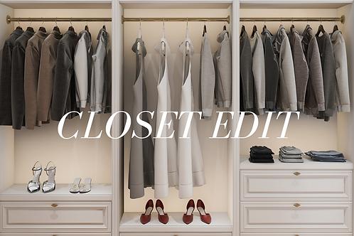 Closet Edit
