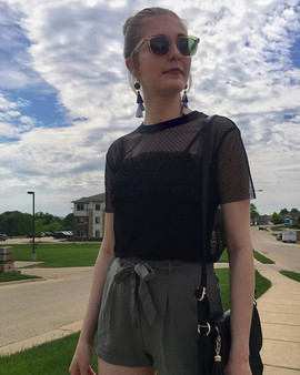 """Looking for a """"trendy"""" outfit to wear to"""