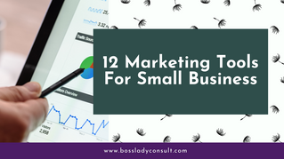 12 Marketing Tools For Small Business