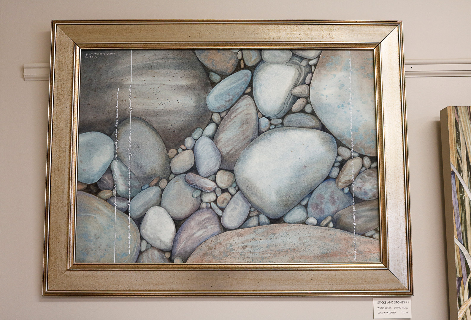 Sticks and Stones #1 by Patricia Carr