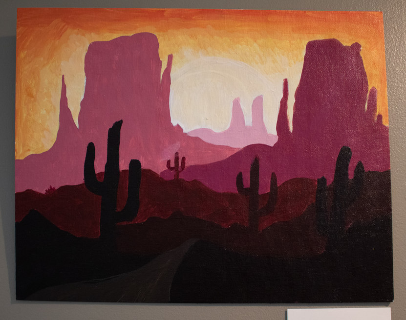 """""""Out West"""" by Samaya Tanner"""
