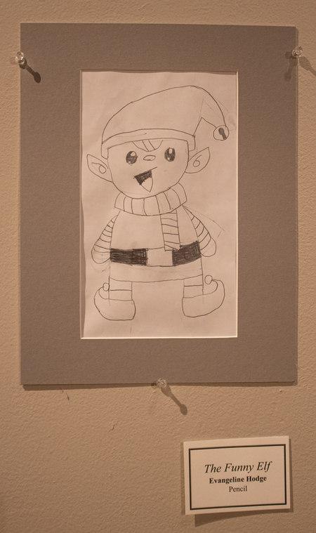 The Funny Elf by Evangeline Hodge
