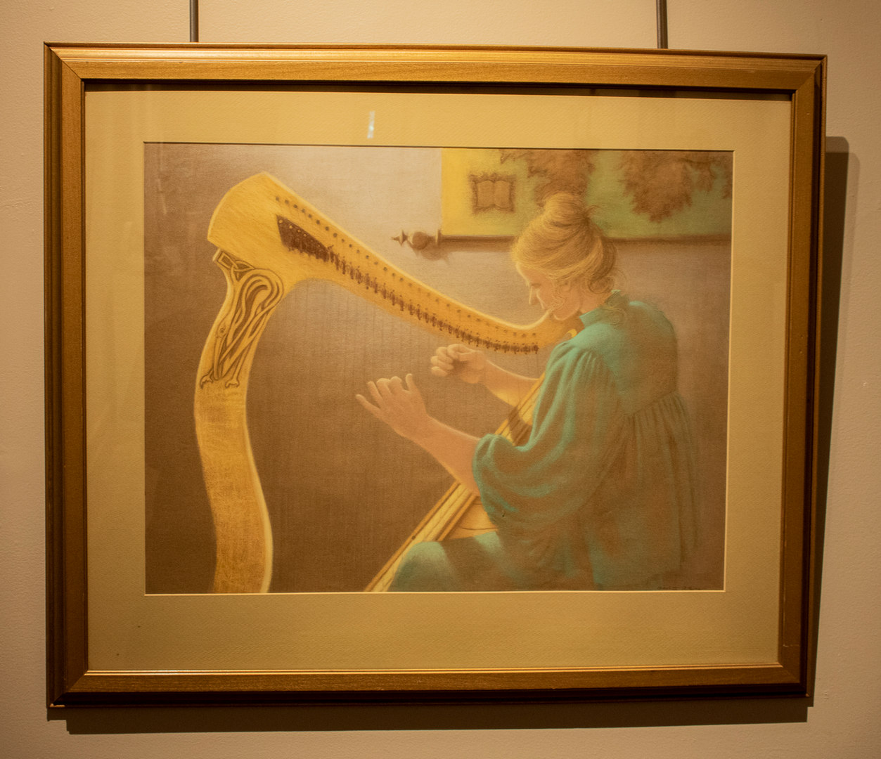 The Celtic Harp by Charlotte Lou Atkins