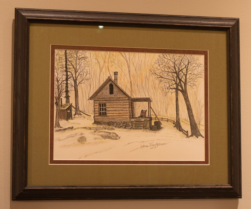 """""""Country Cabin"""" by Donna Hartpence"""