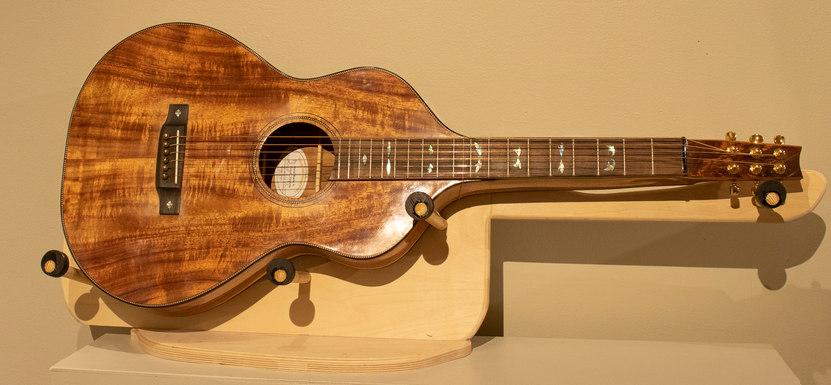 Hawaiian Lap Steel Guitar by Michael Mears