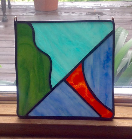 Beginner Stained Glass Class - 9/4/21 (GLS-090421)