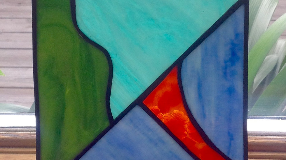 Beginner Stained Glass Class - 5/1/21 (GLS-050121)