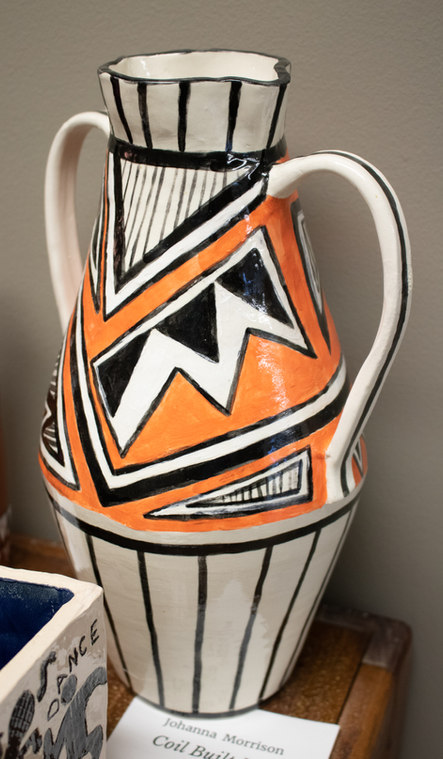 """Coil Built Vase"" by Johanna Morrison"