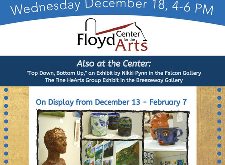 Opening Reception for 3 New Exhibits: FCHS Exhibit, Nikki Pynn, & the Fine HeArts Exhibit
