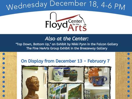 Opening Reception for 3 New Exhibits: FCHS Exhibit, Nikki Pynn, & the Fine HeArts Exhibit