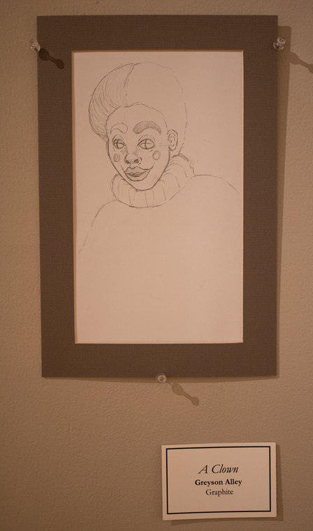 A Clown by Greyson Alley