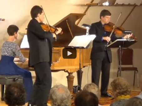 Video: The Rainier Trio Performing at the Center