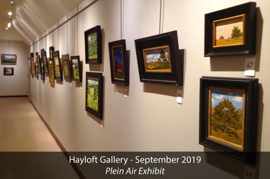 Hayloft Gallery 2019 Plein Air Exhibit 3