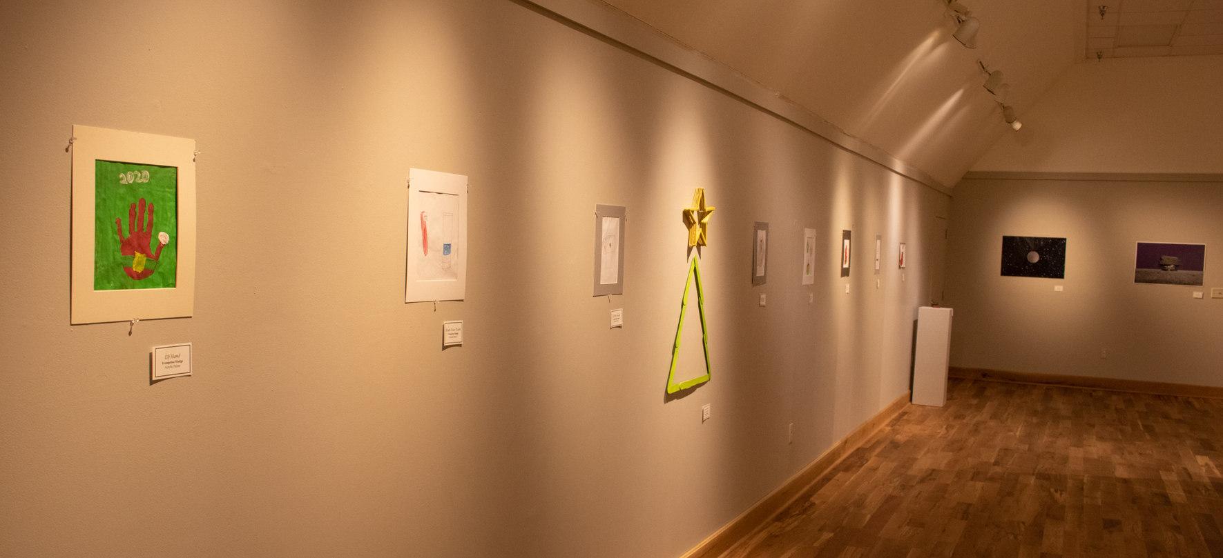 Gallery Floor - East Wall